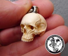 the art of Peter PG Gustafsson Antler Jewelry, Bone Jewelry, Skull Decor, Skull Art, Norse Runes, Creepy Images, Bone Crafts, Bone Carving, Skull Design