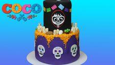 Coco Disney/Pixar Cake Tutorial! - YouTube