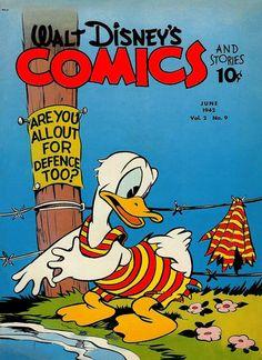 Cover for Walt Disney's Comics and Stories (Dell, Jun 1942) #v2#9