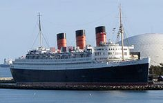 RMS Queen Mary at Long Beach, California