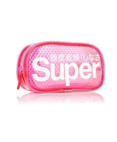 Superdry Trousse Micro Heart Neon Rose