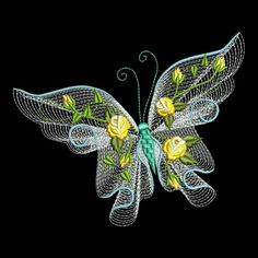 FLUTTERBY LUV #1 Full Pack- 30 Machine Embroidery Designs