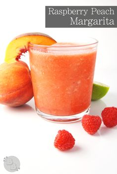 Raspberry Peach Margarita | Bluegrassbites.com