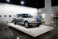 BMW art Car by Matazo Kayama at the Petersen Museum, photo ©laura l. sweet