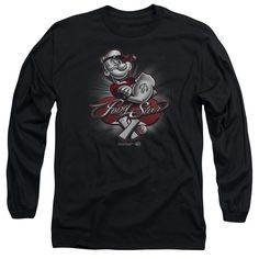 """Checkout our #LicensedGear products FREE SHIPPING + 10% OFF Coupon Code """"Official"""" Popeye / Pong Star - Long Sleeve Adult 18 / 1 - Popeye / Pong Star - Long Sleeve Adult 18 / 1 - Price: $29.99. Buy now at https://officiallylicensedgear.com/popeye-pong-star-long-sleeve-adult-18-1"""