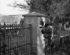 IRA Volunteer on patrol in South Armagh - an IRA Stronghold (1992)