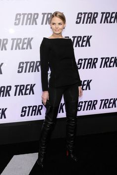"Jennifer Morrison in High Boots - Paramount Home Entertainment's ""Star Trek"" DVD Release Party - November 16, 2009"