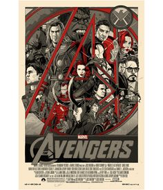 mondo posters, the avengers