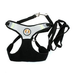 Moya Puppy cat Dog Cat Leash Vest Mesh Breathe Adjustable Harness Braces * Wow! I love this. Check it out now! : Cat Collar, Harness and Leash