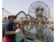 This couples goal is to visit Disneyland everyday for a year.
