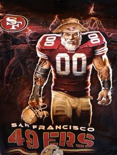 This is our year. 49ers Quarterback, Nfl 49ers, 49ers Fans, Sf Niners, Forty Niners, Nfl Football Helmets, Best Football Team, Montana Football, Broncos Memes