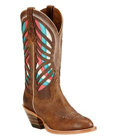 Ariat Tan Gentry Leather Cowboy Boot | zulily