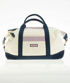 Vineyard Whale Weekender Bag