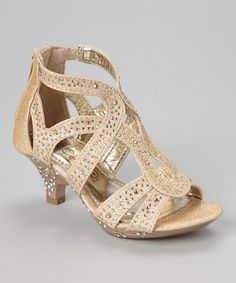 Another great find on #zulily! Gold Kim Sandal by Carrie #zulilyfinds