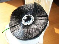 Rare Hattie Carnegie Fiber Flower-super soft!