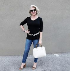 How to Pose - By Susan, from Fifty, not Frumpy / Covered Perfectly Blog