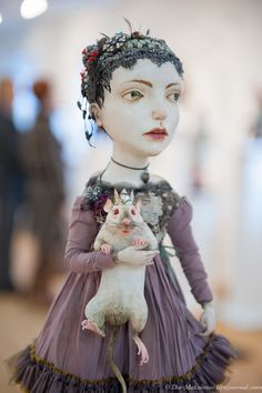 3 - Not really sure why I Pinned this except for the Rat Doll...