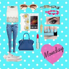 """Monday Look"" by vanessaguerraa on Polyvore"