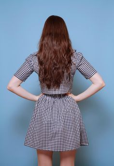 60s Style Vintge Check Co-Ord Peter Pan Collar | Vintage Style Me | ASOS Marketplace