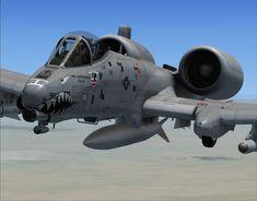 A-10 Thunderbolt II Fighter