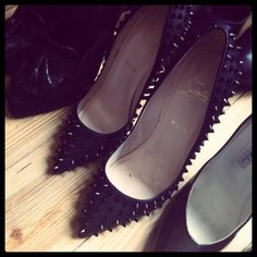 Spiked Pigalle - I could wear these with so many things!