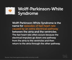 Do you suffer from atrial fibrillation It's important to understand the risks and your treatment options. Fast Heart Rate Causes, Wolf Parkinsons White, Wolff Parkinson White Syndrome, Heart Failure Treatment, Ekg Interpretation, Brain Memory, Cardiac Nursing, Atrial Fibrillation, Heart Conditions