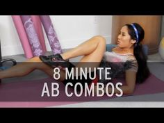 This YouTube channel is so great! I don't have alot of time, so thes help me out. I just choose 3 or four videos every other day and I do great! the girls are cute and professional too! >>  8 Minutes of Non Stop Ab Exercises