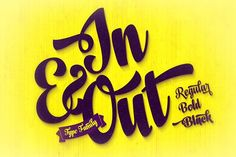 In And Out  by Fenotype on @creativemarket