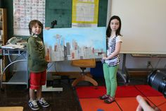 Studio Kids - A Place for Kids and Art in Ballard, Seattle: collaborative projects