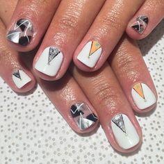 ▫️▪️ #nailart #nail #nailporn #nailjunky #notd #nyc #gelmani
