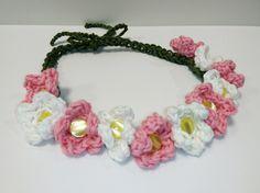 Hårbånd Needlework, Crochet Necklace, Knitting, Jewelry, Design, Fashion, Shopping, Threading, Embroidery