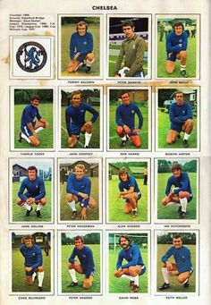 Chelsea team stickers for Chelsea Fc Team, Chelsea Players, Chelsea Fans, Chelsea Football, Chelsea Fc Wallpaper, Image Foot, Football Stickers, Great Team, Old Pictures