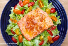 Gourmet Girl Cooks: Oven Roasted Copper River Salmon w/ Clementine Chipotle Butter