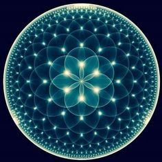 The flower of life. I want this tattooed on me!