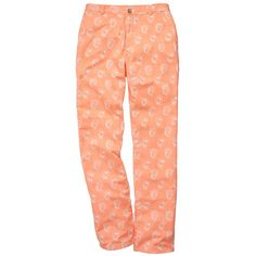 The Shucker Pant in Coral by Southern Proper