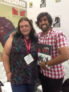 Interview with Fifth Beatle Author Vivek J Tiwary