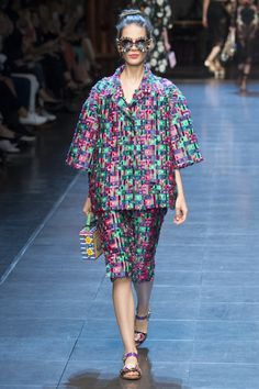Défilé Dolce & Gabbana Printemps-été 2016
