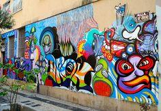 Arte Grafite Graffiti em Copacabana Rio de Janeiro
