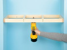 Custom Shelving Done 4 Ways : How-To : DIY Network