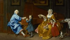 Marcus Tuscher - The Shudi Family Group [ca. 1742]