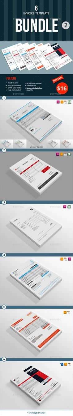 Invoice Template  Click Invoice Template And Colors