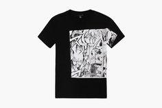 "Yoshiyasu Tamura x McQ by Alexander McQueen Fall/Winter 2014 ""Manga"" Collection Manga Collection, Pop Up, Mcq Alexander Mcqueen, Fall Winter 2014, Mens Tops, Decorating Ideas, Clothes, Fashion, Outfits"