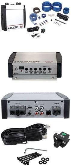 Car Amplifiers: Kicker 40Kx4001 Kx400.1 400 Watt Rms Compact Mono Class D Car Amplifier+Amp Kit -> BUY IT NOW ONLY: $179.0 on eBay!