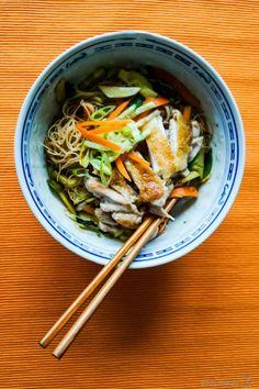 Bei dem Wetter mal was leichtes - vietnamesischer Reisnudelsalat aka. Bun Cha Gio