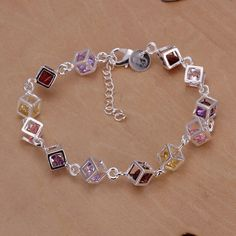 Find More Chain & Link Bracelets Information about NEW 2014 sterling silver jewelry bracelets & bangles for women men jewelry bracelet free shipping crystal high quality B170,High Quality bangles swarovski,China bangle bracelet holder stand Suppliers, Cheap bangle jade from Discount Store-Jewelrys on Aliexpress.com