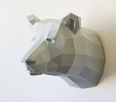 Geometric Paper Sculptures by Wolfram Kampffmeyer
