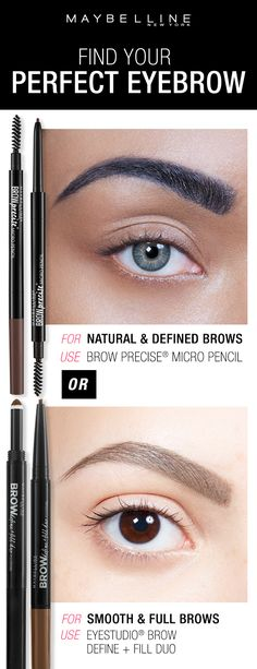 Whether you want natural, defined eyebrows or smooth and full eyebrows, Maybelline has the perfect brow products for you! Click through to use the Brow Play Studio by Maybelline to find your perfect eyebrow look! Source by Maybelline Makeup Goals, Love Makeup, Makeup Tips, Makeup Primer, All Things Beauty, Beauty Make Up, Hair Beauty, Eyebrow Makeup, Skin Makeup