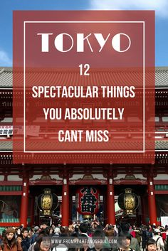 12 things to do in Tokyo, Japan