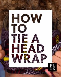 This is the EASIEST way to wear a head wrap. Watch and learn.