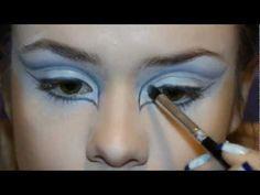 The Ice Queen makeup tutorial / Макияж снежная королева - YouTube
